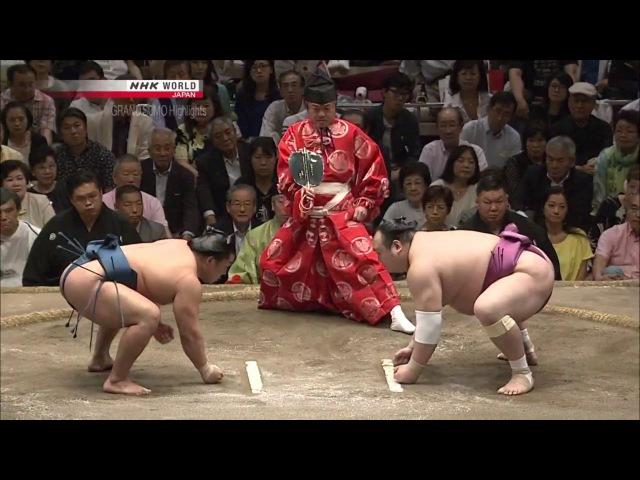 Sumo - Natsu Basho 2017 Day 14 - May 27th