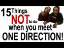 15 Things NOT To Do If You Meet One Direction!