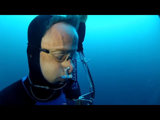 William Winram 145m Freediving World Record