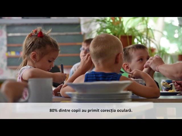 Acest proiect al UE ajută copiii cu deficiențe de vedere în Moldova