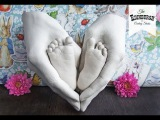 How to make Love Heart Baby Casting!