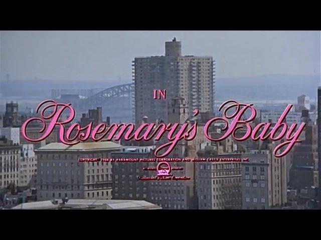 Rosemary's Baby, 1968.