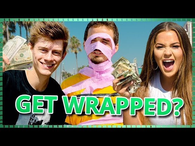 Tape Mummy Challenge!| Do It For The Dough w/ Tessa Brooks and Chance Sutton