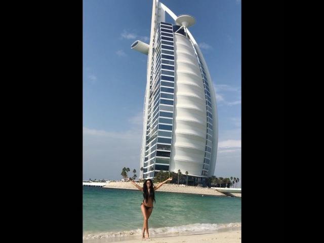 Катя Жужа ушла в отрыв и продолжает наслаждаться отдыхом в Дубае