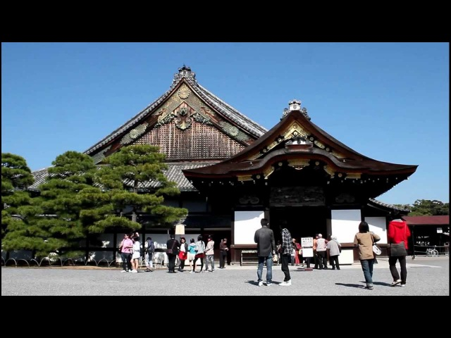 Nijo Castle. Kyoto, Japan 【HD】