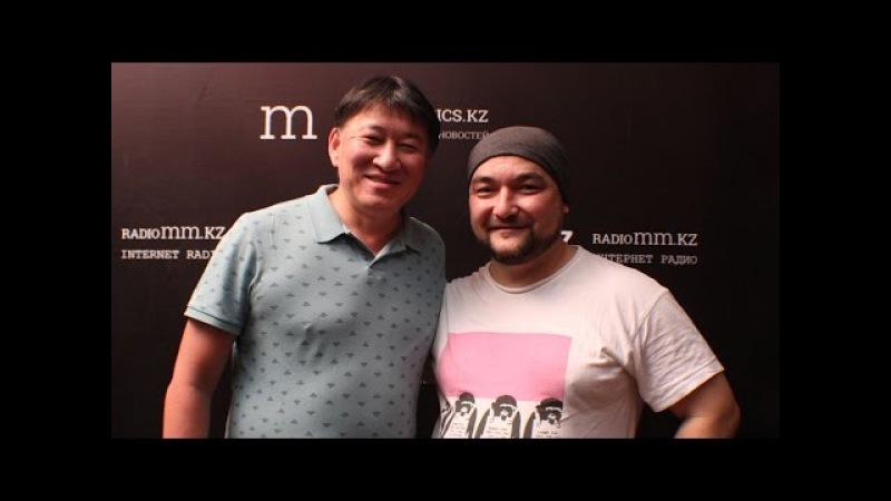 Камертон с Темирланом Тулегеновым. Серик Буксиков, художник