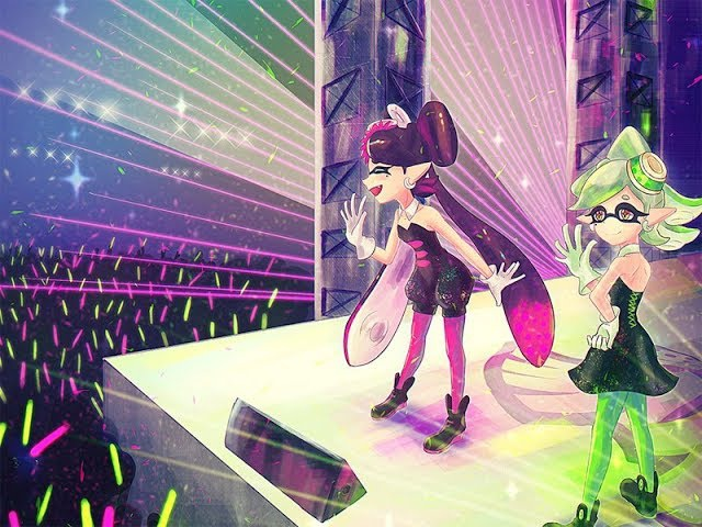 Squid Sister Ink Me Up OST Splatoon StepMania the Game Series 7 Nintendo Wii U