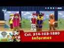 En vivo Patrulla Canina Paw Patrol se presentan en Manzanillo Colima