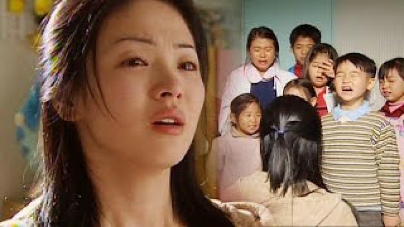 아이들 이별에 송혜교 폭풍 눈물 '진한 감동' @올인 3회 20030122