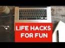 FUN LIFE HACKS YOU CAN DO AT HOME - LIFE HACKS FOR FUN