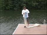 SUPER EASY Cast Net Instructions. How to Throw a Cast Net NO TEETH! CUBAN STYLE. Team Old School