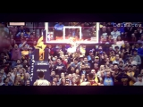 LeBron James The Alley-Oop Dunk!