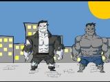 Халк против Соломон Гранди [Marvel vs DC]
