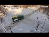 ДТП Бийск на перекрестке ул. Ленинградская - Разина.