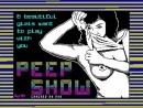 Загрузка игры PEEP SHOW для ZX Spectrum
