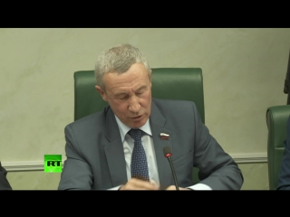В Совфеде проходит заседание по деятельности американского правительства в отношении СМИ в России