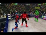 Человек-Паук и Халк против Алого Паука и Красного Халка