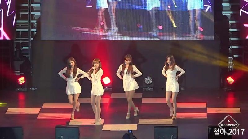 [FANCAM] 16.05.17 9MUSES A - Lip 2 Lip @ Anyang Military Service Concert