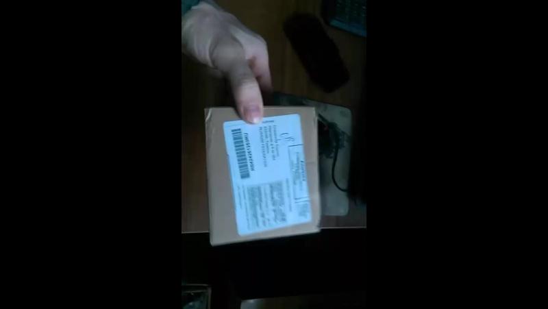 Распаковка подарка от Prongs