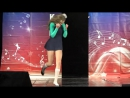 Иринка на сцене с гимнастическим танцем - Imagine Dragons Believer
