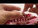 Элементы вязания крючком платья Сиена