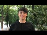 Видео-приглашение Алексеева на свой сольный концерт в Казани!