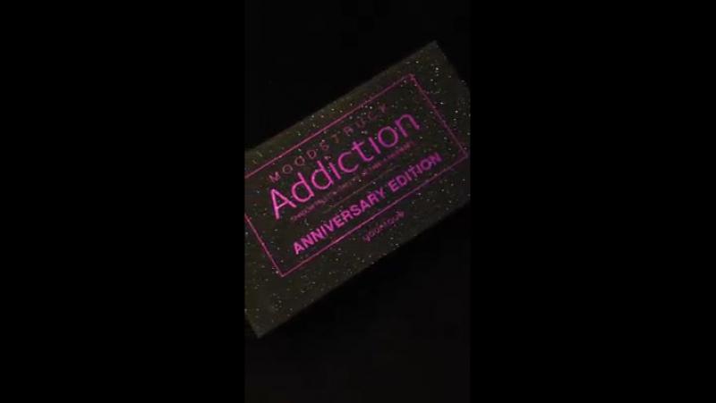 💜 Ein kurzer Video Eindruck zu unserer ganz neuen u. exklusiv limitierten MOODSTRUCK ADDICTION Lidschatten-Palette anlässlich un
