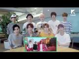 Lets Dance NCT 127_Cherry Bomb Dance Cover Contest Reaction Video