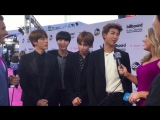 MORE Las Vegas posted a video of their interview with #BTS at the 2017 Billboard Music Awards