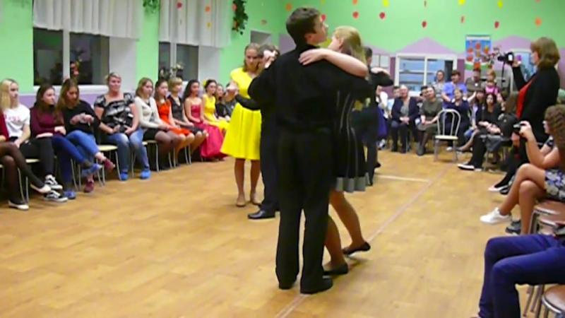 Танец Дневники Вампира в исполнении 8Б класса Икшинская СОШ