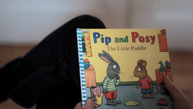 Illustrator Axel Scheffler reads from his new book Pip and Posy_ The Little Puddle