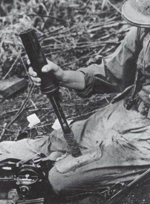 """50-мм японский """"Коленный миномет"""" Тип-89"""
