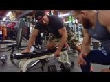 Тренировка с двойником Конора Макгрегора и  Денисом Семенихиным.