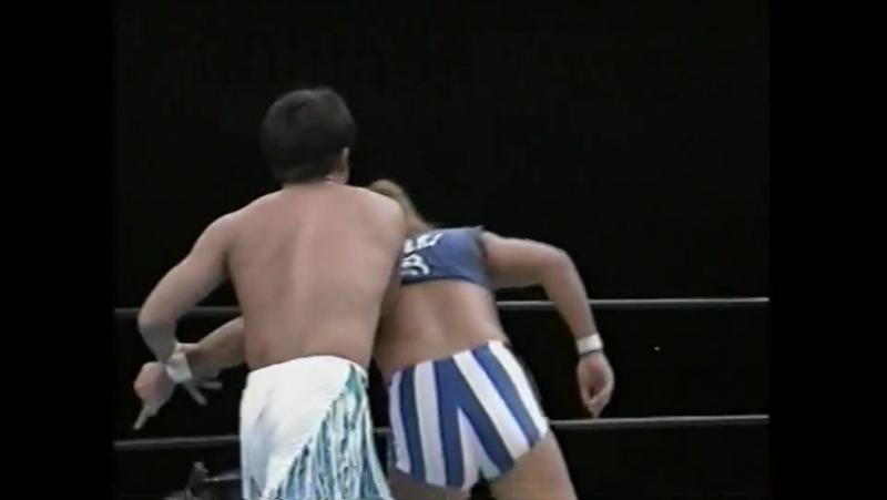 Ikuto Hidaka, Minoru Fujita vs. Kaientai DX (Shoichi Funaki, TAKA Michinoku) (Battlarts - Battle Fiction 1998) » Freewka.com - Смотреть онлайн в хорощем качестве
