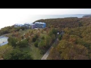 Коттеджный посёлок Айдар c  высоты птичьего полета
