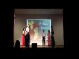 Выступление на Дне учителя (05.10.2017) Моя 2-я постановка танца.
