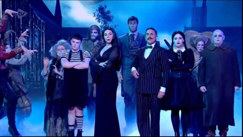When Youre an Addams - The Addams Family Musical - Tonight at the London Palladium