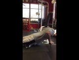Phil Ross / Got a PB of 50 reps with the Jon Jon Bruney's Nuero Grip Push-up