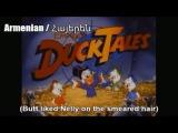DuckTales Theme Song Multilanguage - With Misheard  Buffalax  Fake English Lyrics!