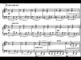 Benjamin Britten - Five Waltzes for Piano, Op. 3 (1925) Score-Video