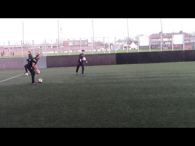 Glasgow Celtic Academy Goalkeeper Warm UP
