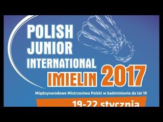 Polish Junior 2017 WD FINAL - A.Khomich/K.Szubert (BLR/POL) vs W.Adamek/I.Pajek (POL)