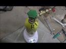 Способ прочистки каппилярной трубки в холодильнике Атлант