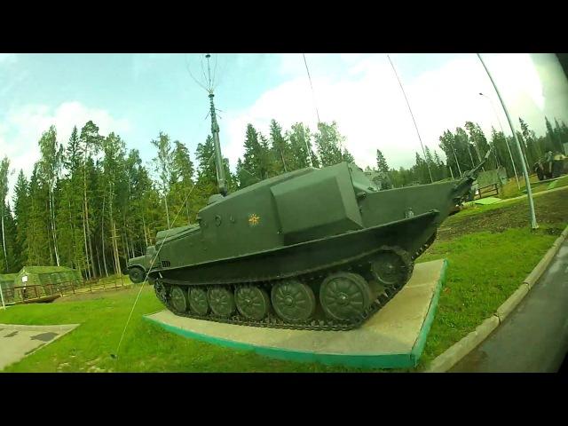 PARK PATRIOT ARMY 2017 the tour in the area Объезд территории ПАРКА ПАТРИОТ АРМИЯ 2017