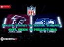Atlanta Falcons vs. Seattle Seahawks   #NFL WEEK 11   Predictions Madden 18