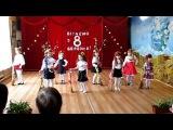 Залізний Порт. Свято 8 березня 2015р. 1 клас дівчата співають пісню