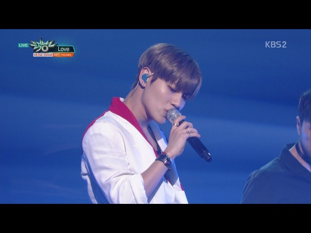 TAEMIN 태민 Comeback Stage 'Love' KBS MUSIC BANK 2017.10.20