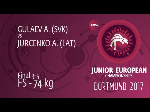 BRONZE FS 74 kg A GULAEV SVK df A JURCENKO LAT by TF 10 0