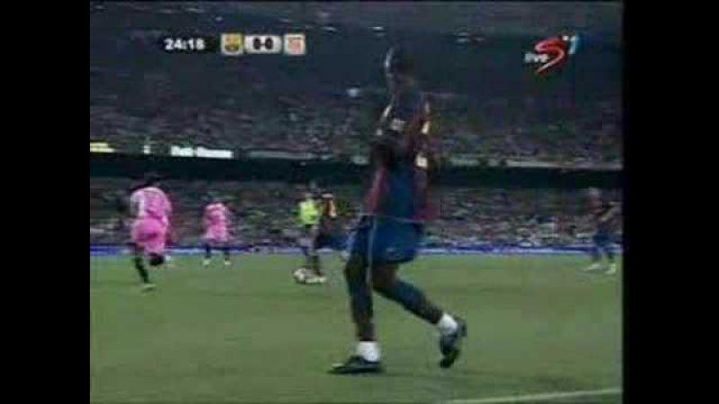 Andres Iniesta: Barcelona-Sevilla 22.9.2007
