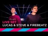 Lucas &amp Steve &amp Firebeatz (DJ-set LIVE @ ADE) SLAM!